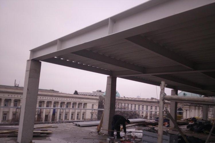 Покривна конструкция с LT ламарина - Image