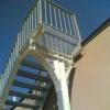 Стоманени стълби и парапети