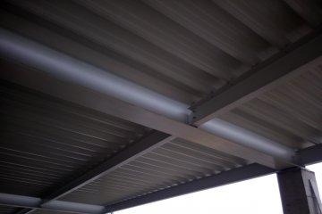 Покривна конструкция с LT ламарина