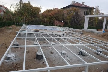 Подова метална конструкция